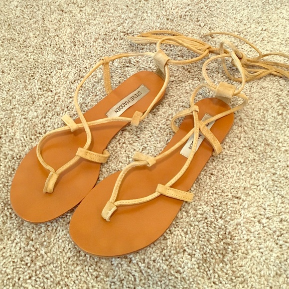 f35897e702b Steve Madden Werkit tan suede gladiator sandal
