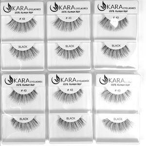MAC Cosmetics Other - KARA Eyelashes #43 (100% Human Hair) 6 Pack