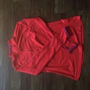 Nike 1/4 zip workout top