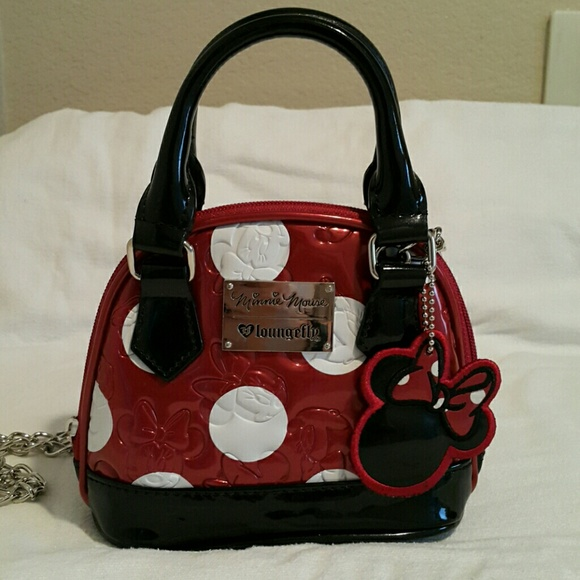186ee95e260d loungefly Handbags - Loungefly x Disney Minnie Mouse Mini Dome Satchel
