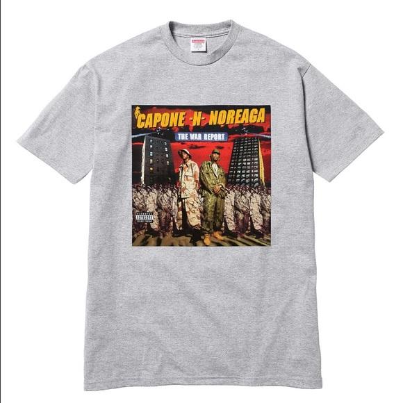 fb36b1b05518 Supreme Shirts | Cnn War Report Tee | Poshmark