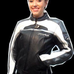 Hein Gericke Women's Leather Motorcycle Jacket S