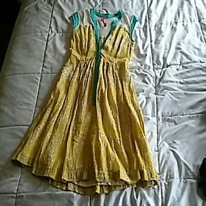 Yellow Tracy Reese dress
