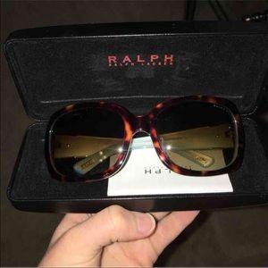 Ralph Ralph Lauren sunglasses and case
