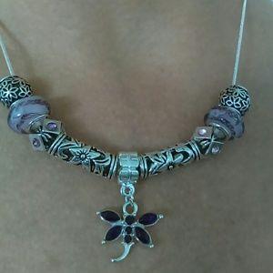 Jewelry - Murano Glass Bead Necklace
