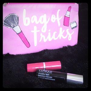 Clinique Bloomingdales new 3pc. set w/ lipstick!