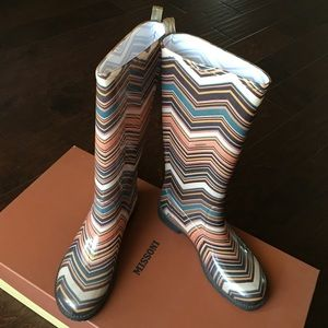 Missoni Shoes - Missoni Rainboots - Size 6 / 36 EU