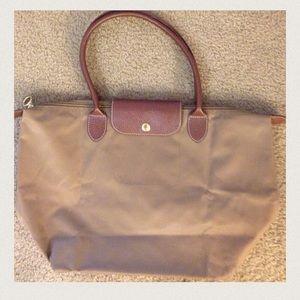 Folding Nylon Tote Bag