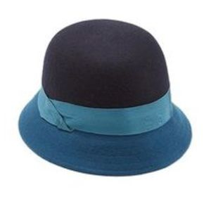 Lucky Brand Color Block Cloche Hat