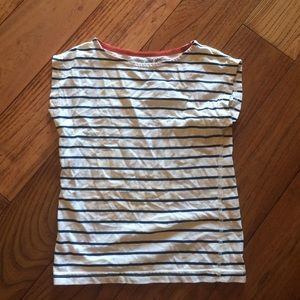 Soft Gallery Other - By Soft blue & white striped organic cotton shirt