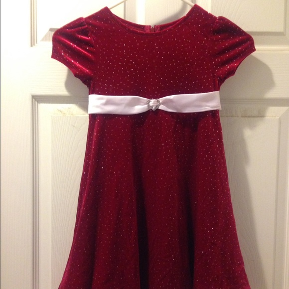 80% off Bonnie Jean Other - Girls mrs Claus Christmas dress 5 from ...