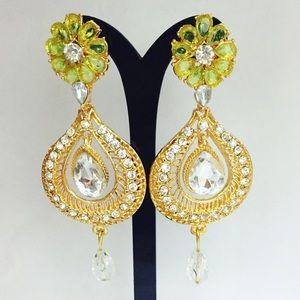 Bollywood Indian Chandelier Fashion Earring