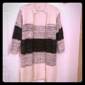 Sweater coat - new