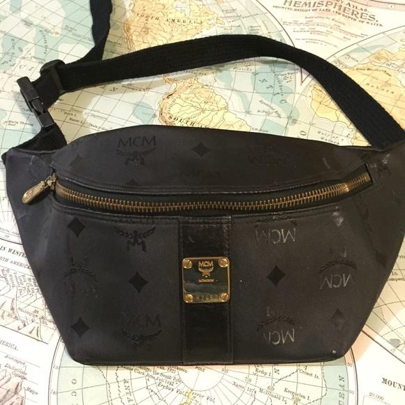 9aa0d64b09f20 MCM Bags   Vintage Fanny Pack Rare Htf   Poshmark