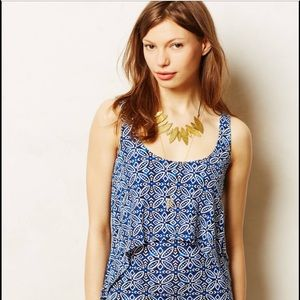 Anthropologie Tart Hollis Layer dress sz Small