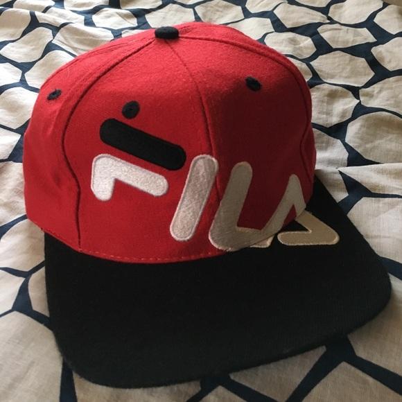 e055945e4d9 Fila Other - Vintage FILA SnapBack Hat