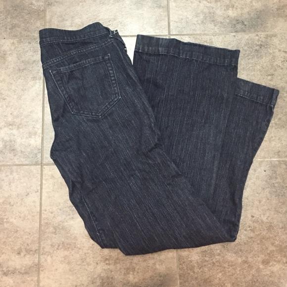 old navy flirt trouser jeans
