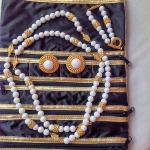 MINT GIVENCHY VINTAGE Parure 70s jewelry  set