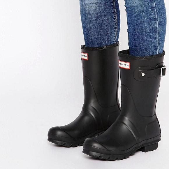 e83631269a59 Hunter Shoes - Hunter Original Short Rain Boot in Matte Finish