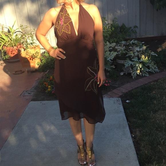 BCBG Dresses & Skirts - BCBG Silk Evening Dress