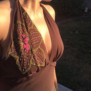 BCBG Dresses - BCBG Silk Evening Dress