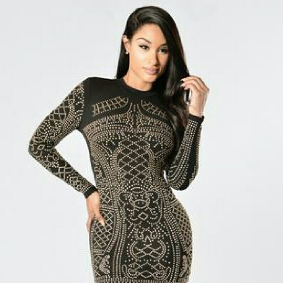Fashion Nova Dresses Balmain Inspired Dress Poshmark