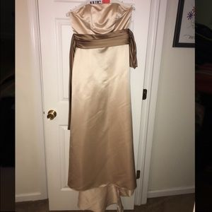 Bill Levkoff Dresses & Skirts - Beautiful Bill Levkoff Tan & Light Brown Dress