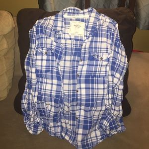 "Abercrombie ""flannel"" - light fabric!"