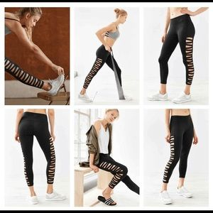 39 off urban outfitters pants walk without walls crisscross legging