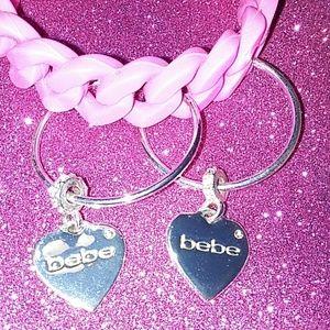 bebe Jewelry - Bebe hoop earrings