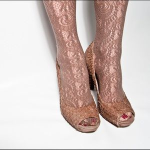 Lace cute panty stockings jcrew