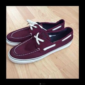 Sperry Top-Sider Shoes - Sperry top-sider maroon color
