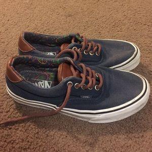 349df73c94 Vans Shoes - Vans blue and brown leather details