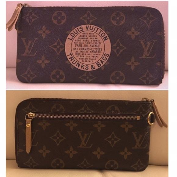 b3091bb5e20 Louis Vuitton Trunk and Bags Long Wallet