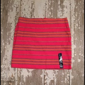 Gap Striped Mini Skirt