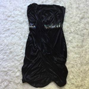 [Windsor] Strapless Cocktail Dress - 3/4