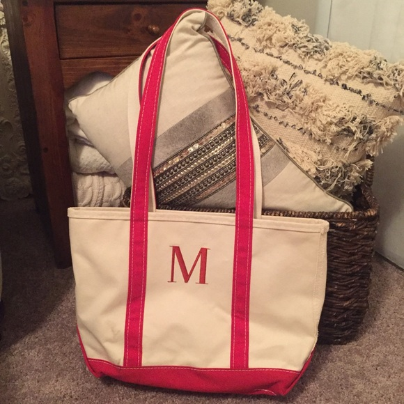 Fine Ll Bean Monogrammed M Tote Cjindustries Chair Design For Home Cjindustriesco