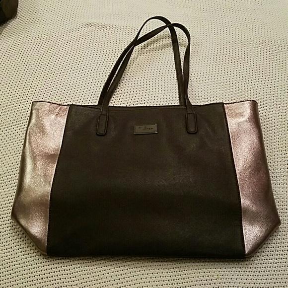 a3809fc3 David Jones Handbags - David Jones metallic tote bag