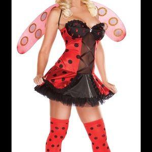 Ladybug Playboy Bunny Costume
