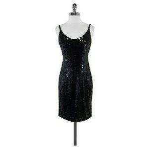 Oleg cassini black dress