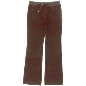 Juicy Couture Pants - JUICY COUTURE BLACK VELOUR DRAWSTRING PANTS XL-NWT
