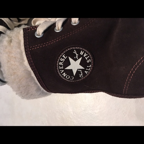 Converse Shoes - Converse All Star High Top Fuzzy Bootie Sneakers