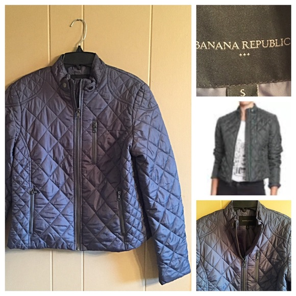 6005a79aa222b Banana Republic Jackets & Blazers - ⚡️SLASHED⚡️Banana Republic quilted  jacket