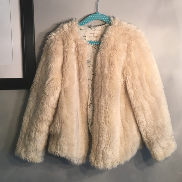 77% off Zara Other - Zara Girls Faux Fur Jacket from Lilah's ...