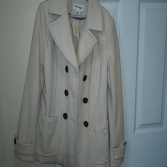 St. John's Bay - Cream colored pea coat from Aubree's closet on ...