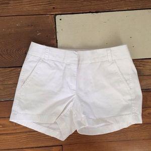 J. Crew Pants - NWOT J.Crew White Chino Shorts
