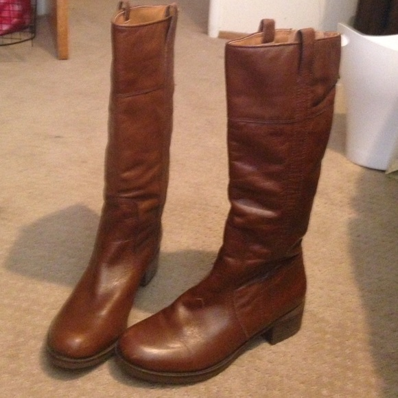 51a59967731 Lucky Brand Shoes - Lucky Brand Heloisse Leather Knee high boot
