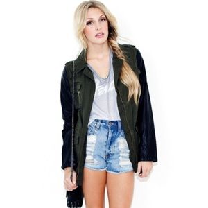 Blu Pepper military jacket