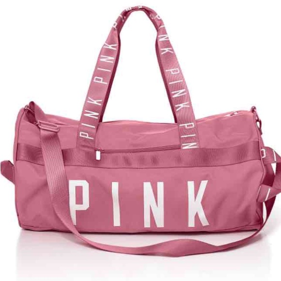 Victoria's Secret Pink duffle gym bag luggage grey navy red brand new Cute fattfawolfke.ml Your Cart With Color · World's Largest Selection · Under $10 · Returns Made Easy,+ followers on Twitter.