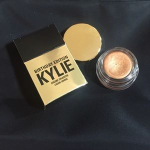 Kylie Cosmetics Other - Kylie cosmetics BIRTHDAY copper creme shadow